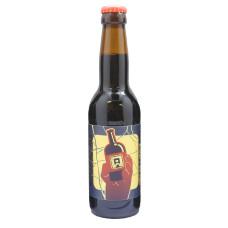"""Bière brune Aurignac Dark Ale """"Naissance"""" - 33cl"""