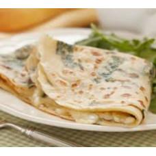 Crêpe ou Galette - Epinard Oignon confit Emmental Mozzarella