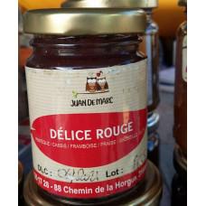 Confiture Délice rouge - 1 pot de 106 ml